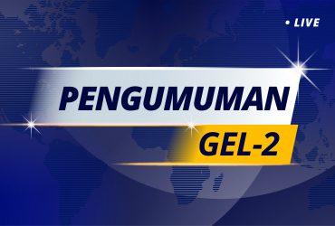 Hasil Seleksi PMB Gel. 2 T.A. 2020-2021