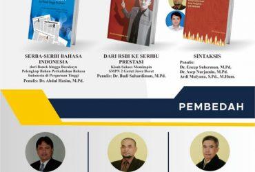 BEDAH BUKU  INSTITUT PENDIDIKAN INDONESIA GARUT TAHUN 2020