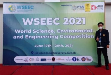 """Hade Pisan,Mahasiswa IPI Garut Ini Berhasil Sabet """"Gold Medal"""" di Ajang WSEEC 2021 Tingkat Internasional"""