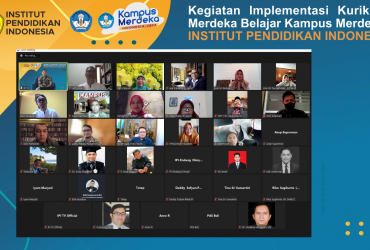 Kegiatan Implementasi Kurikulum Merdeka Belajar Institut Pendidikan Indonesia