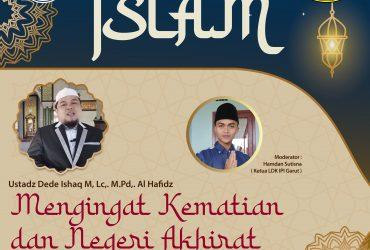 Kajian Islami Tema: Mengingat Kematian dan Negeri Akhirat